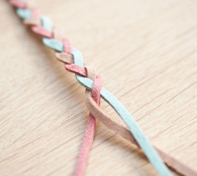 Souvent DIY Tutoriel Bracelet Tressé | Bijou technique | Pinterest  WS68