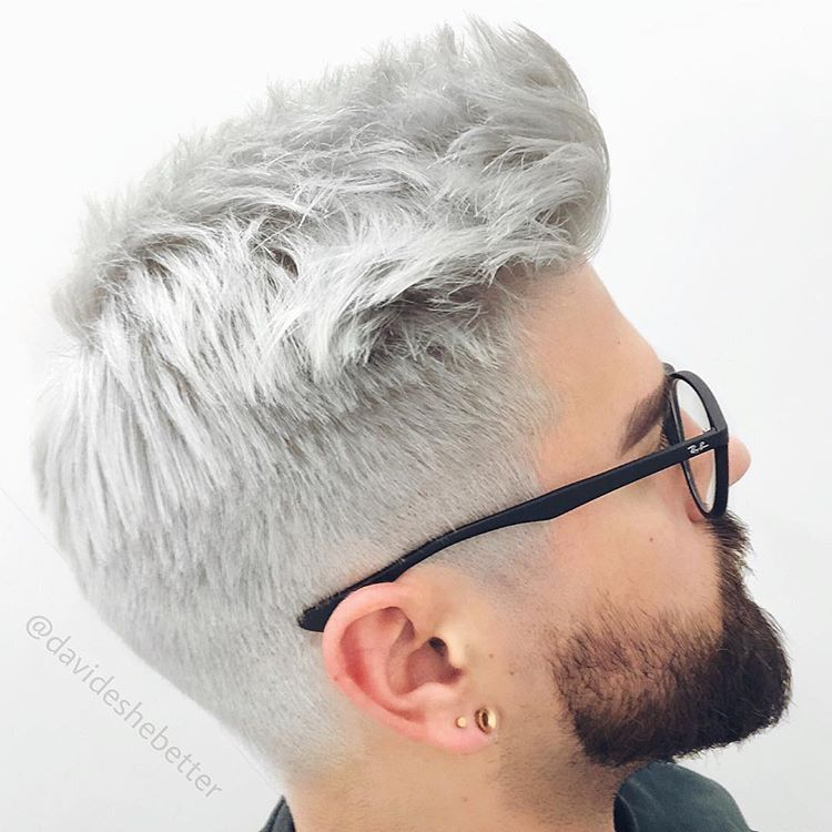 Use Hairmenstyle Davideshebetter Platinum Blonde