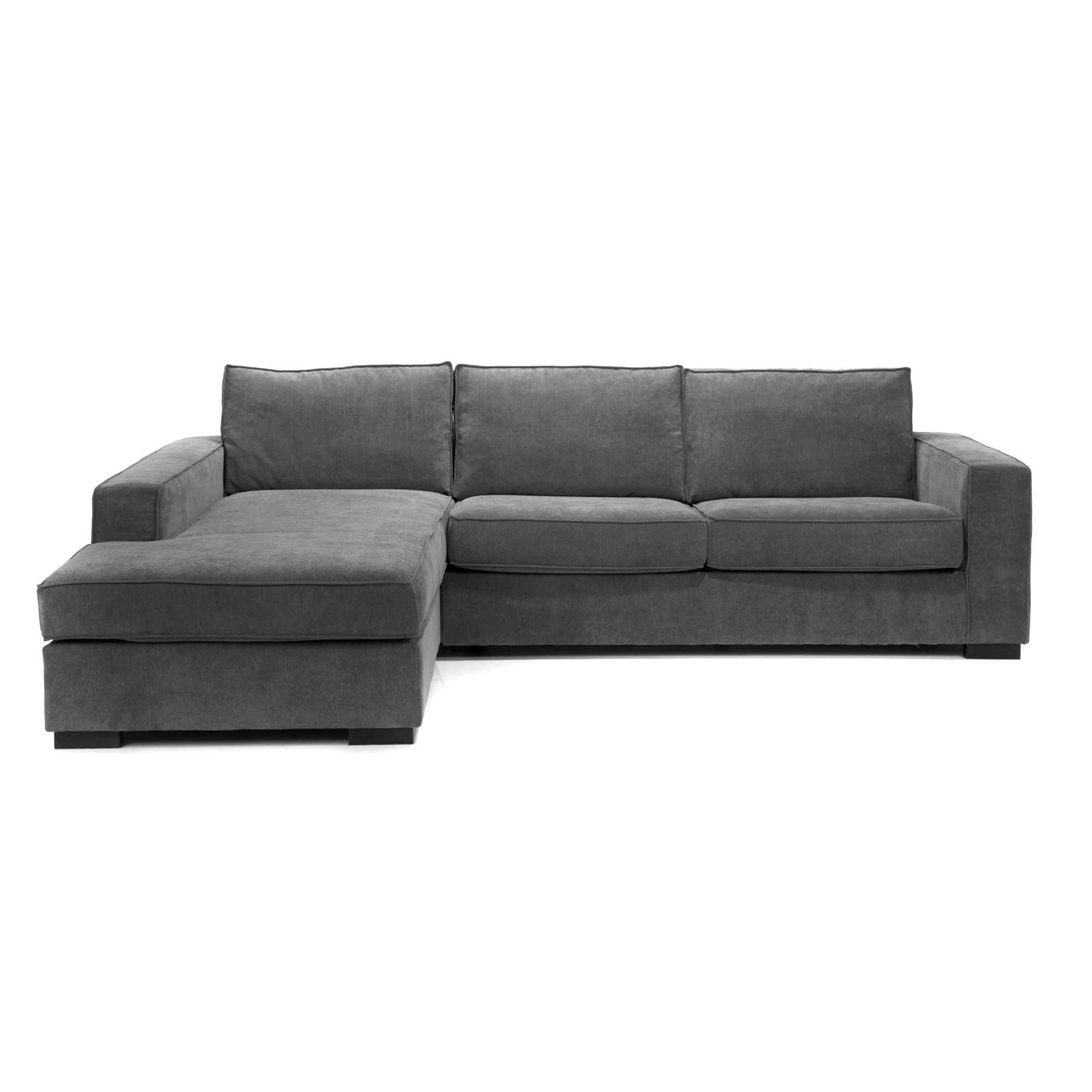 Canape Orca Alinea CanapÉ Dangle Dove En Tissu Gris Code Article 231713 Sofas