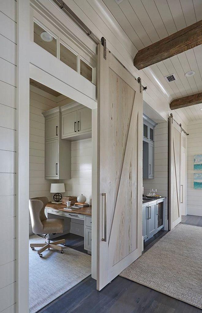 Florida Beach House with New Coastal Design Ideas (Home Bunch - An Interior Design & Luxury Homes Blog) -   23 farmhouse style office ideas