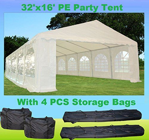 Storage Sheds 32x16 Heavy Duty Wedding Party Tent Canopy Carport White Read More Reviews Of The Product By Visiting The Link Party Tent Canopy Tent Tent
