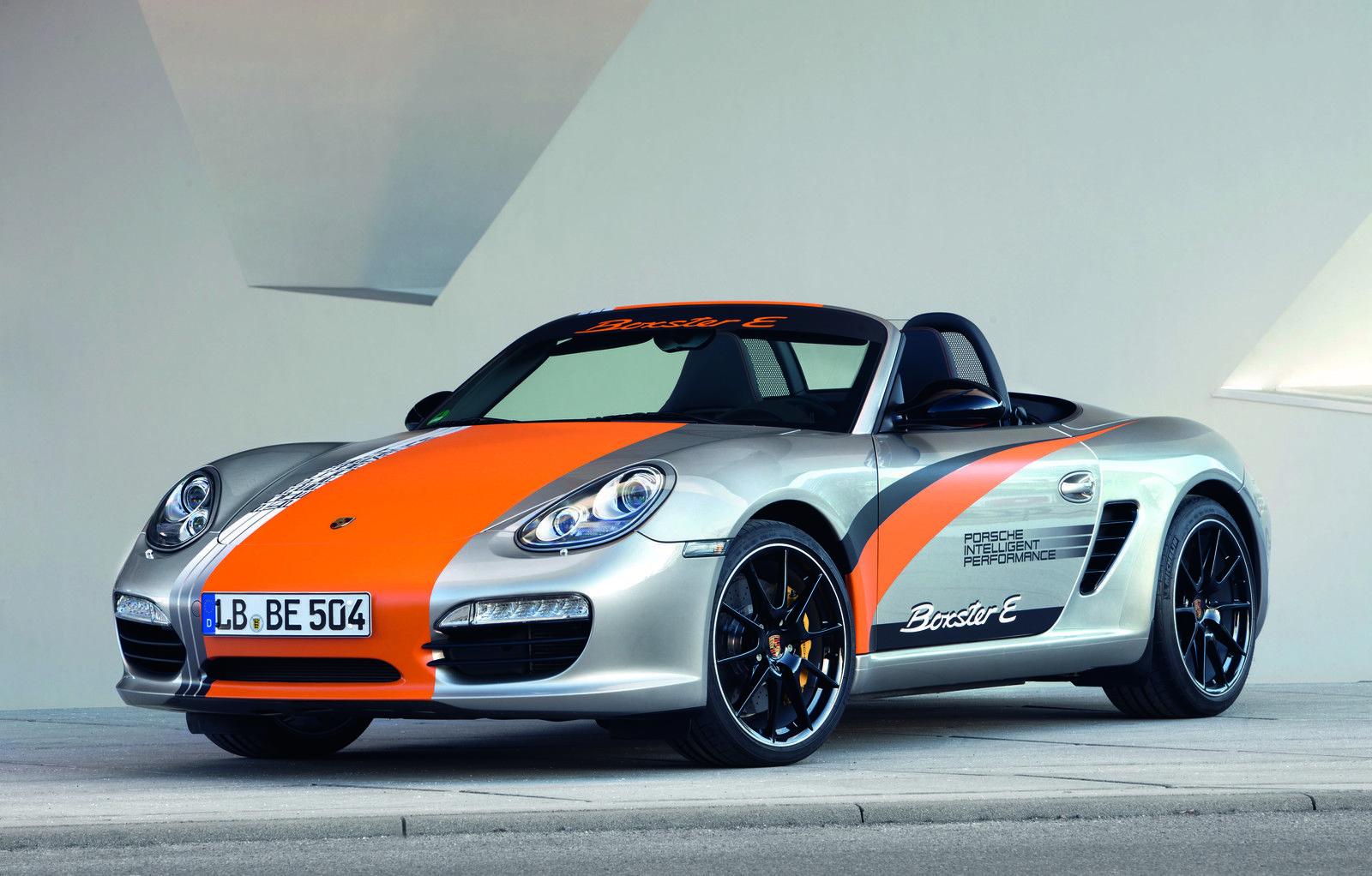 2013 Porsche Boxster E Porsche Boxster Porsche Boxter Electric