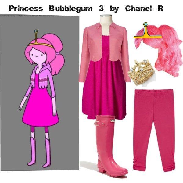 Adventure Time Bubble Princess Bubblegum Cosplay Costume Girl/'s Dress Halloween
