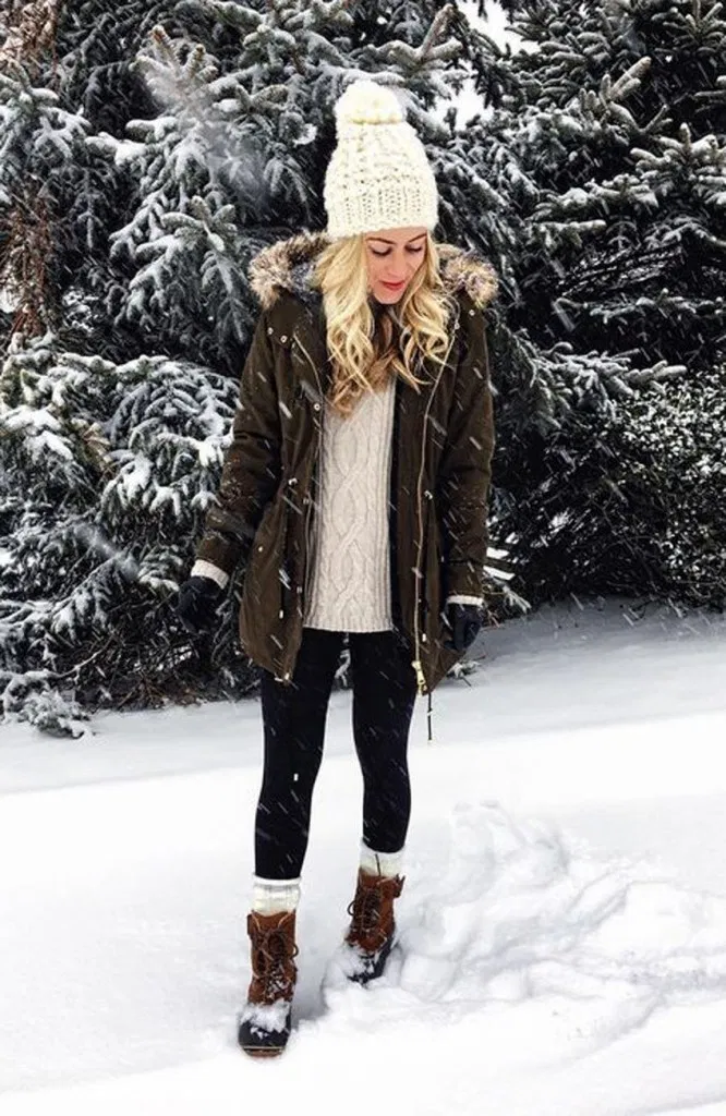 25 amazing winter outfit ideas 6 in 2020 | Winter fashion ...