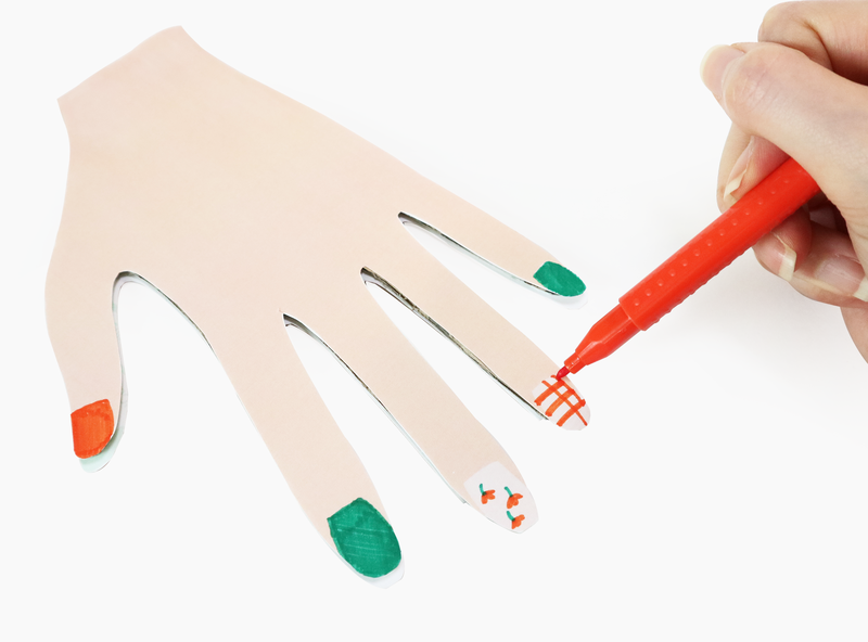 엄마표 미술놀이 아이가 완성하는 네일아트 도안 첨부 네이버 블로그 2020 네일아트 유치원 아이디어 쉬운 어린이 공예
