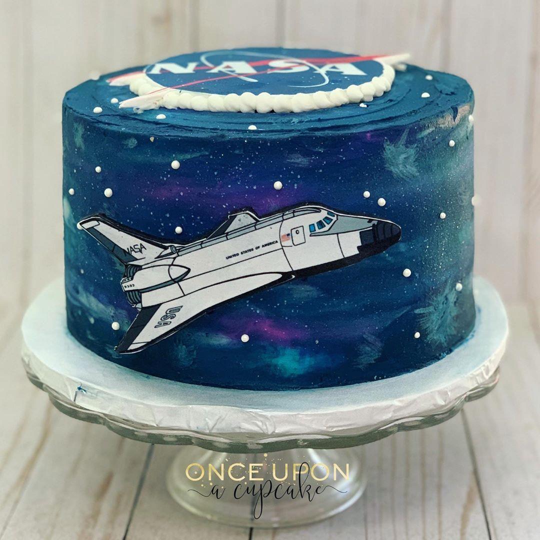 Space shuttle/NASA birthday cake Birthday cake girls