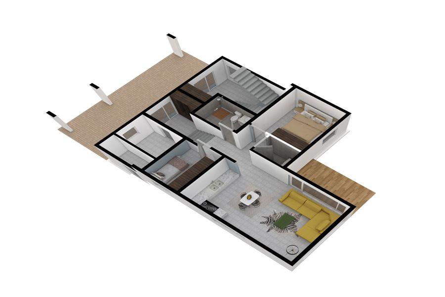 Sadi24 I Will Do Your Interior 3d Floor Plan Rendering For 35 On Fiverr Com Floor Plans Rendered Floor Plan Interior Architecture Design