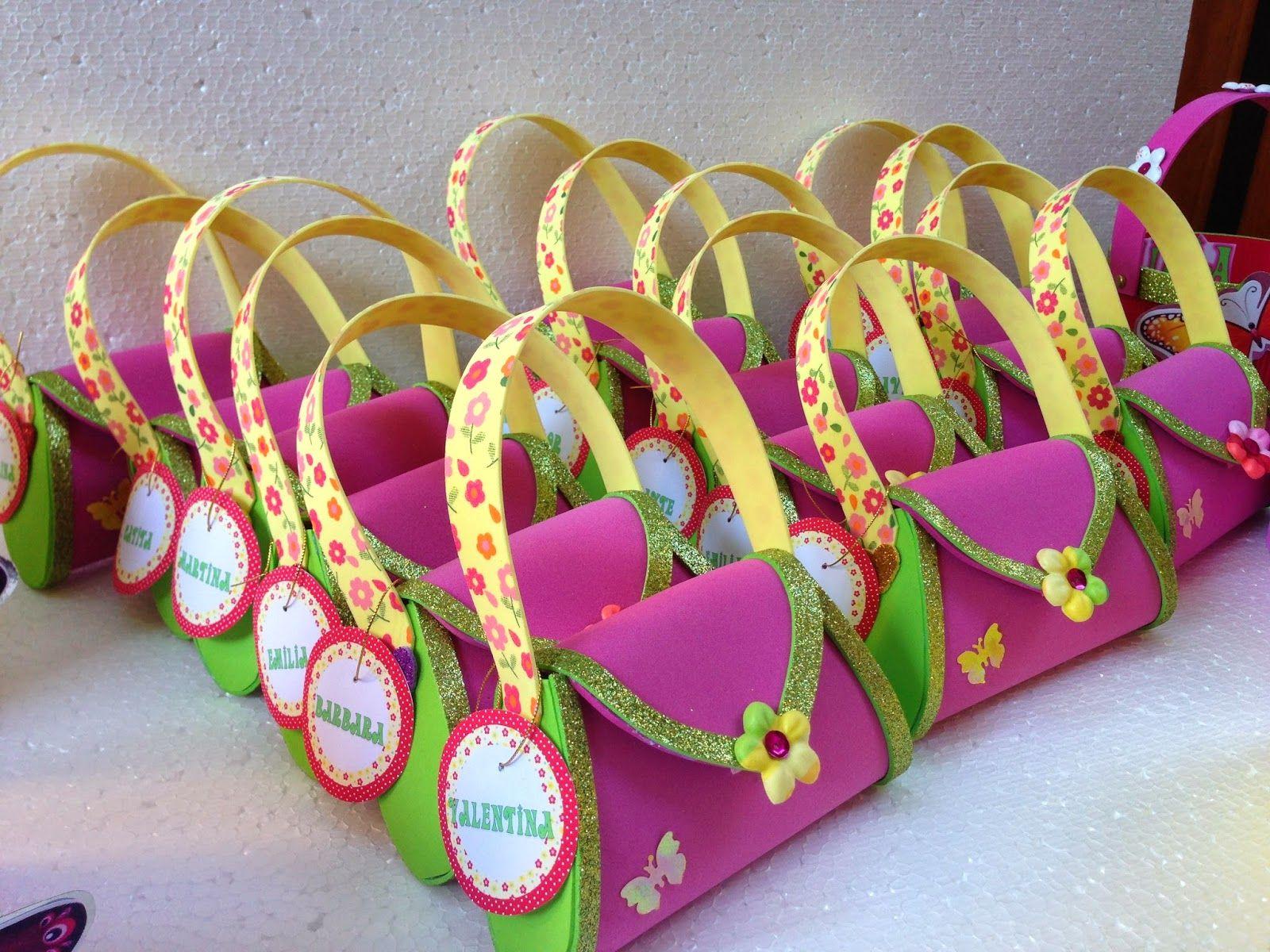 Decoraciones infantiles carteritas de goma eva tematicas for Decoraciones infantiles
