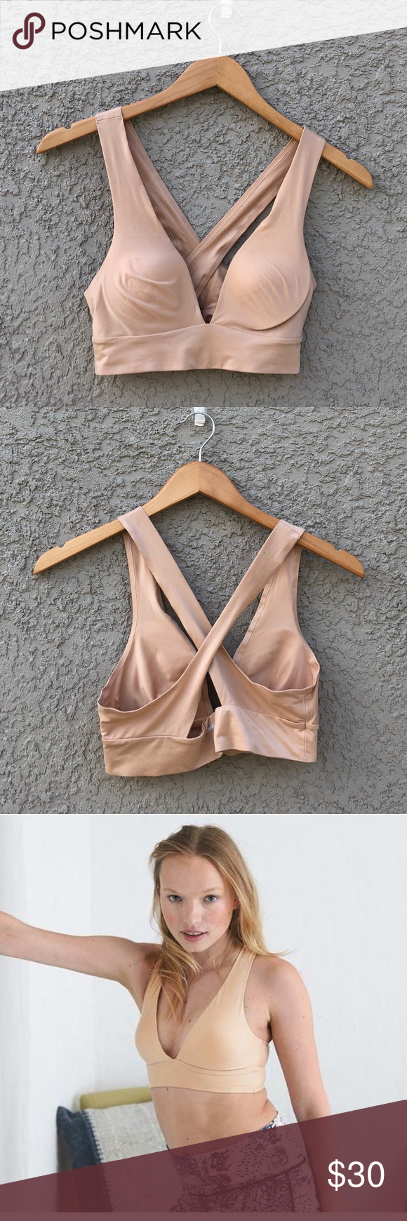 7a38881a77c AERIE Sunnie Chill Bralette in Nude AERIE by American Eagle Sunnie Chill  Bralette in the color