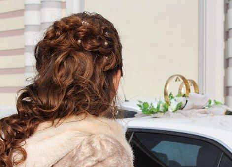 Bride Wedding Hairstyle Bride Wedding Hairstyle Rings Hair Styles Bride Hairstyles Simple Wedding Hairstyles