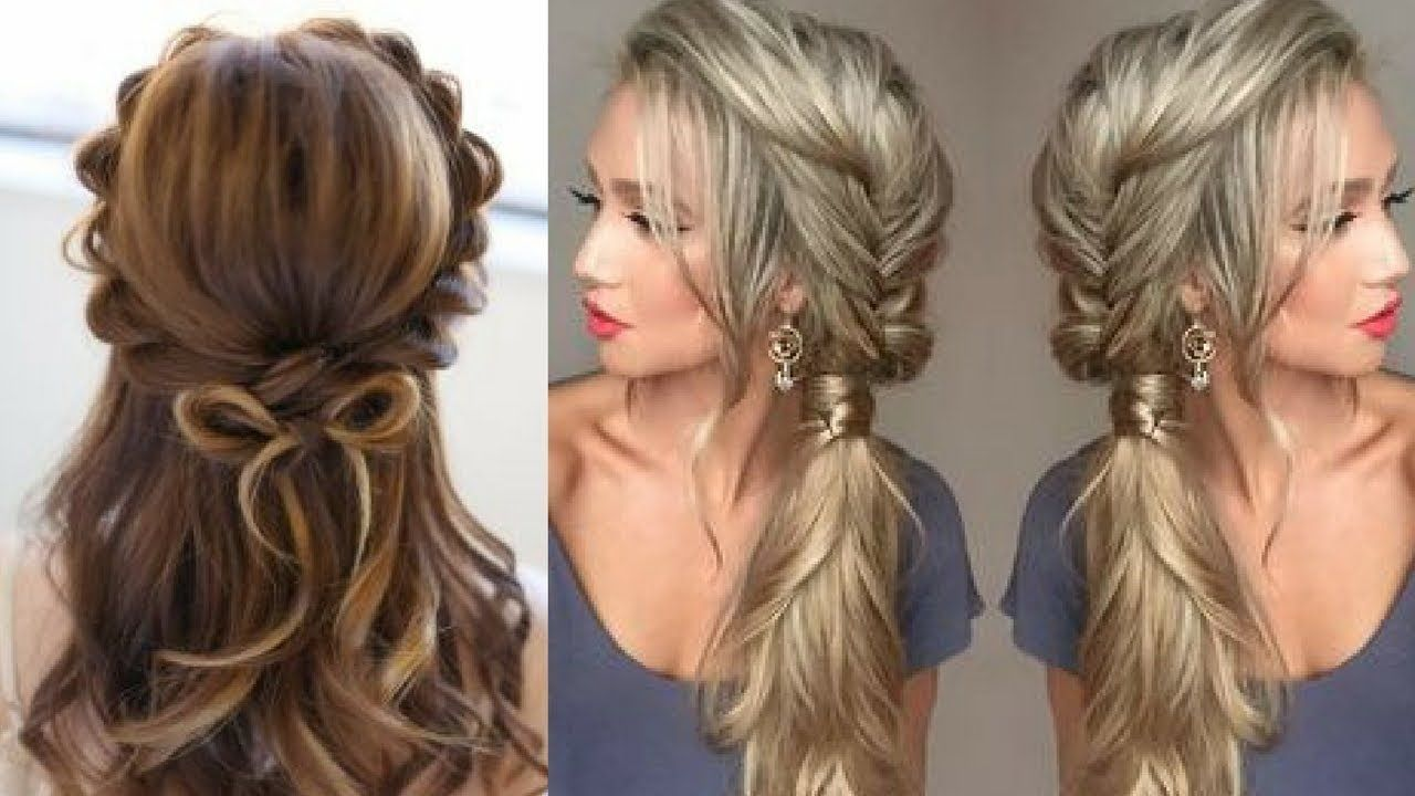 Simple And Easy Beautiful Hairstyle For Long Hair Everyday Hairstyles 9 Hair Styles Hairstyle Long Hair Styles