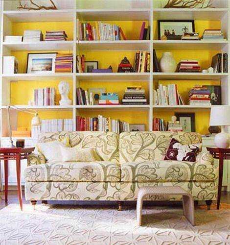 Ive often wanted to paint the back of my bookshelves. | For the Home ...