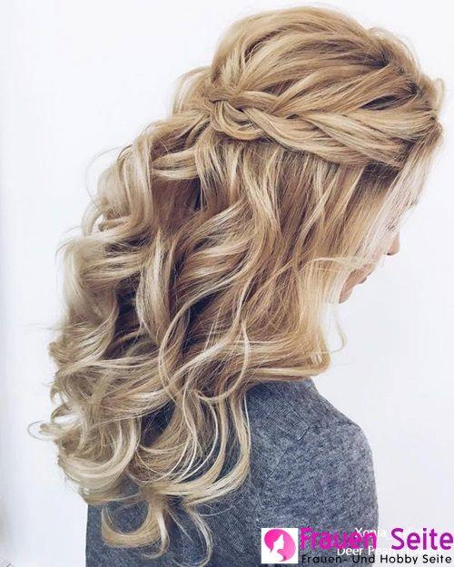 33 Elegantes peinados y peinados de novia de los estilistas de Xenia #Eleganthochzeitsf …
