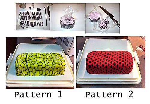 pattern fondant http://cakeryblog.blogspot.ie/2010/10/i-wanted-to-try-technique-by-dahlke.html