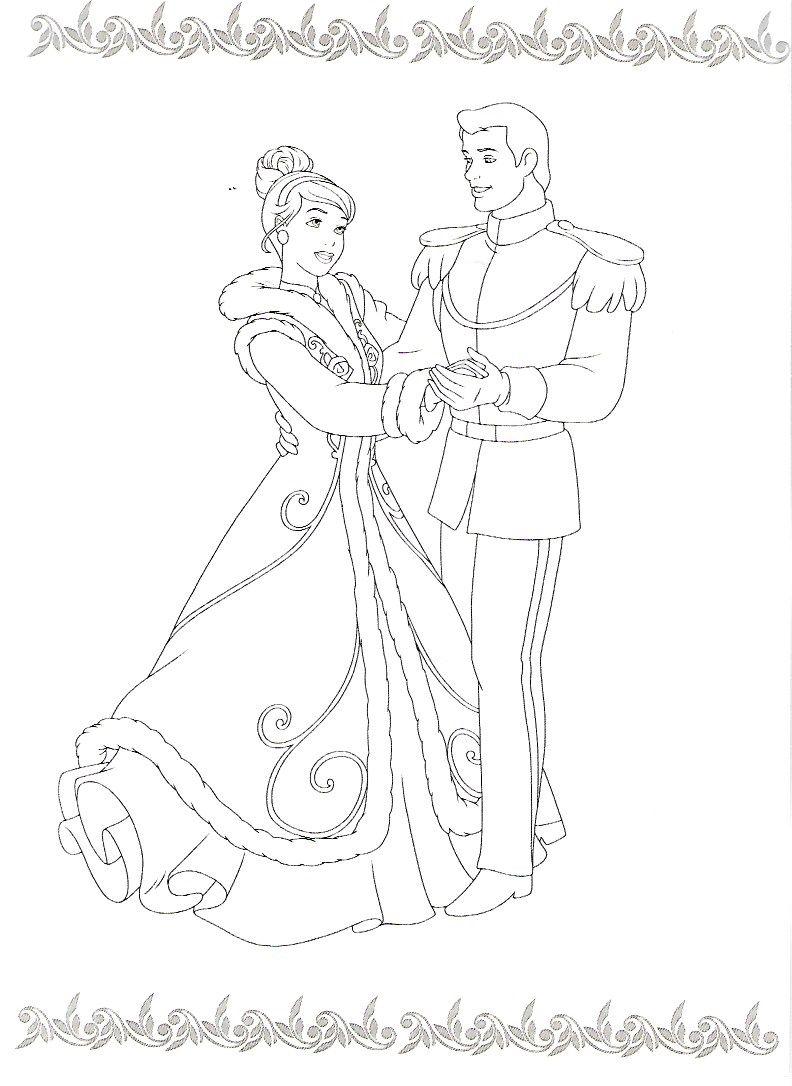 Pin de Jody Kyle en Disney coloring pages | Pinterest | Cenicienta