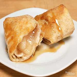 Apple pie chimichangas recipe bhg 39 s best recipes - Better homes and gardens apple pie recipe ...