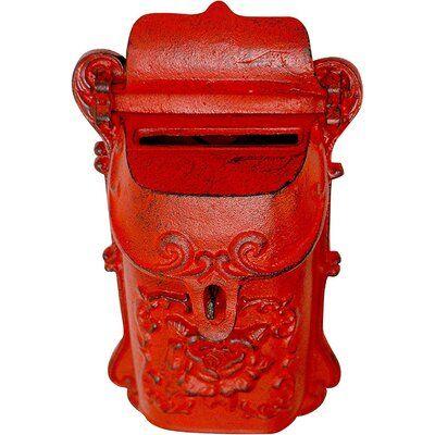 NACH Nazlie Wall Mounted Mailbox | Wayfair.ca