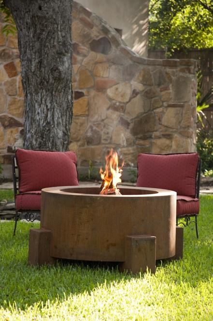 above ground fire pits gazebos fire pits and outdoor kitchens steel fire pit wood burning. Black Bedroom Furniture Sets. Home Design Ideas