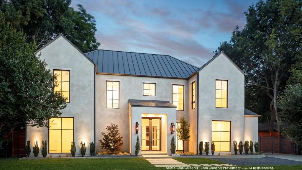 Stunning New Construction By Cjb Homes Devonshire Dallas Business Journal House Designs Exterior Rustic Home Design House Exterior