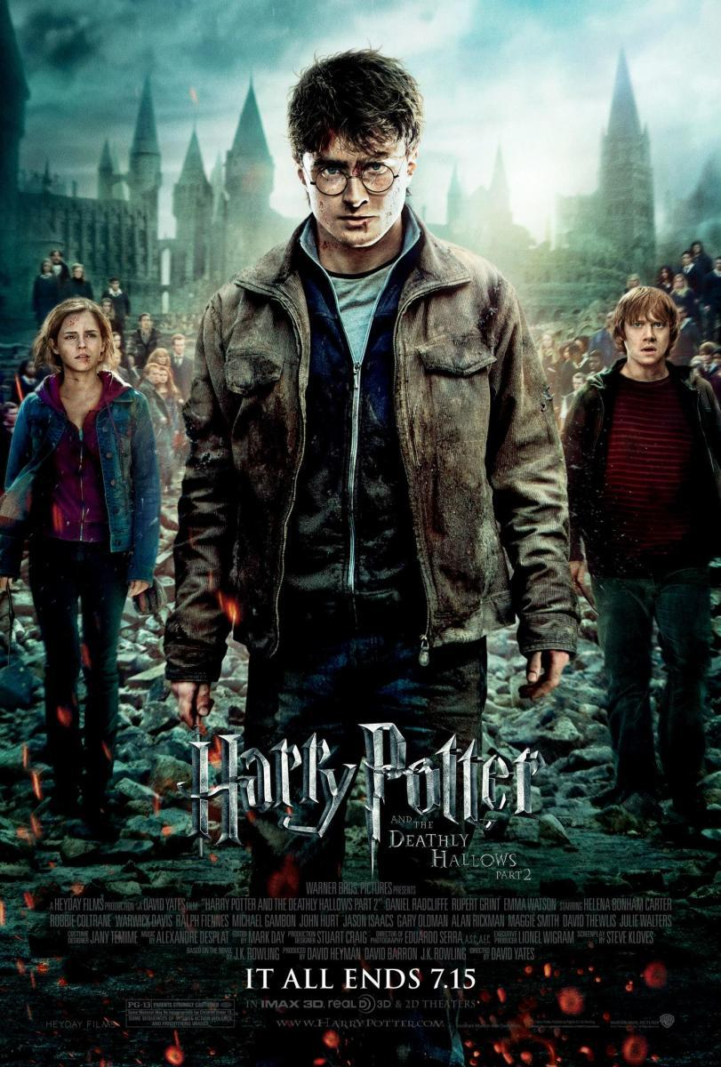Harry Potter Y Las Reliquias De La Muerte Parte 2 2011 10 Peliculas De Harry Potter Harry Potter Ver Peliculas Online