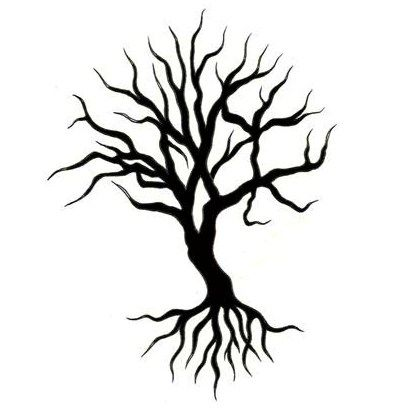 tree of life tattoo designs | black tree tattoo design - tattoowoo