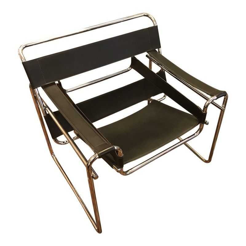 Wassily Chair Vintage Reproduction Originally Designed By Marcel