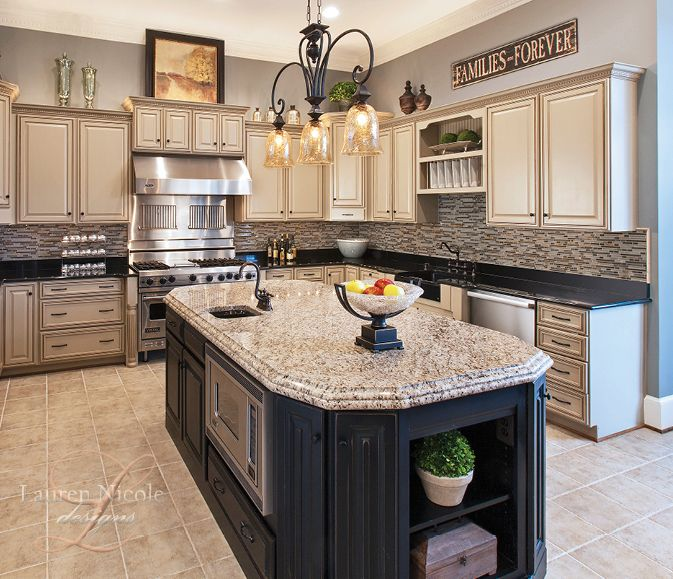 Paint your kitchen island a different color than the ...