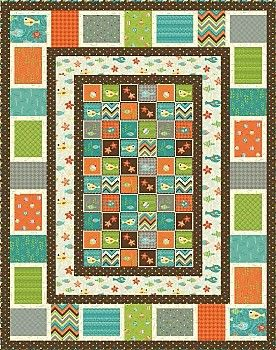 HERE FISHY FISHY Quilt Pattern FREE DOWNLOAD Henry Glass ... : quilt patterns free download - Adamdwight.com