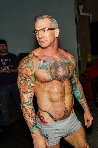 Hot older male gay