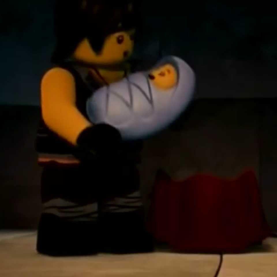 Lego Ninjago Season 8: Sons of Garmadon Cole and the baby | Ninjago cole,  Ninjago, Lego ninjago