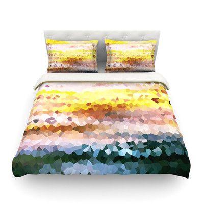 East Urban Home Turaluraluraluuu Pixel by Iris Lehnhardt Featherweight Duvet Cover Size: Full/Queen