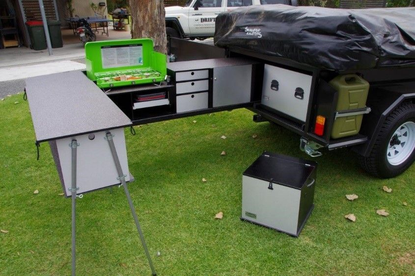 Dpor package deal Camper trailers, Outdoor camping