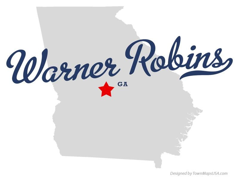Warner Robbins Georgia Map.Warner Robins The Home Buyer S Korner Diy Social Seo Georgia