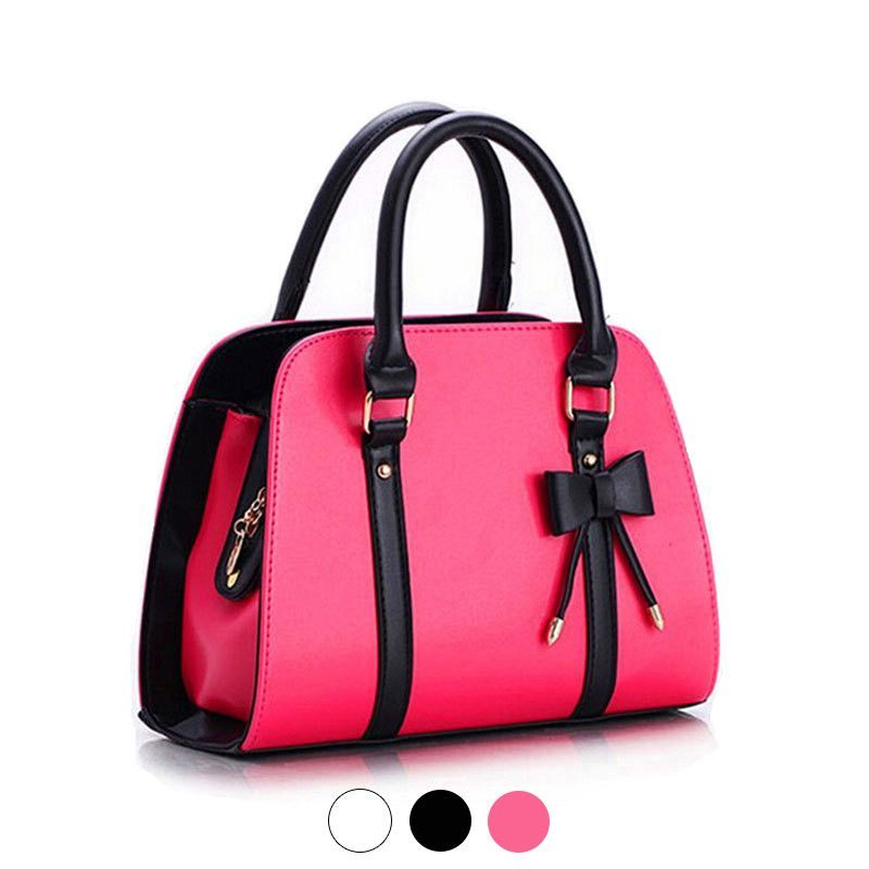 Available Now on our store:  Bowknot PU leathe... Check it out here ! http://mamirsexpress.com/products/bowknot-pu-leather-ladies-shell-top-handle-handbag-shoulder-bags-bolsas-for-women-female-lady?utm_campaign=social_autopilot&utm_source=pin&utm_medium=pin