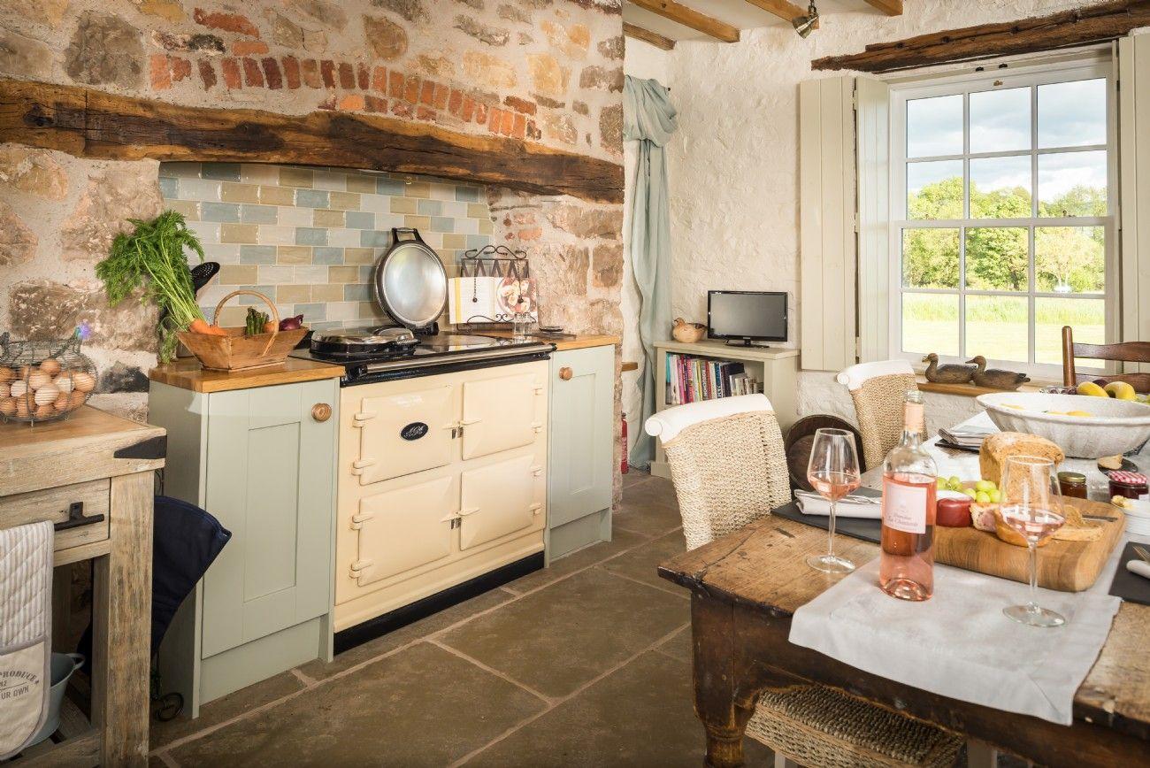 Best Kitchen Gallery: Luxury Self Catering Cottage Denbighshire North Wales Luxury of Luxury Cottage Kitchens on rachelxblog.com