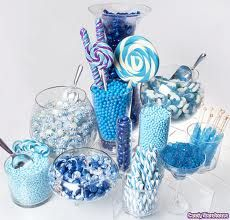 i love blue candy