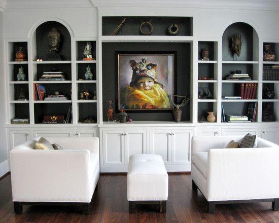 Built In Home Entertainment Center Design, Pictures, Remodel, Decor