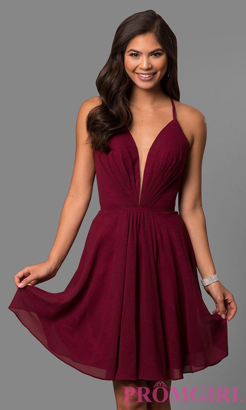 ff9a6c63e81 Short Homecoming Dresses Promgirl