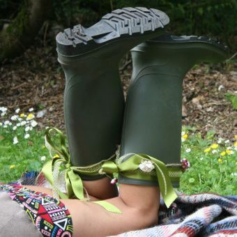 Cambiemos el estilo de nuestras botas de luvia o agua...