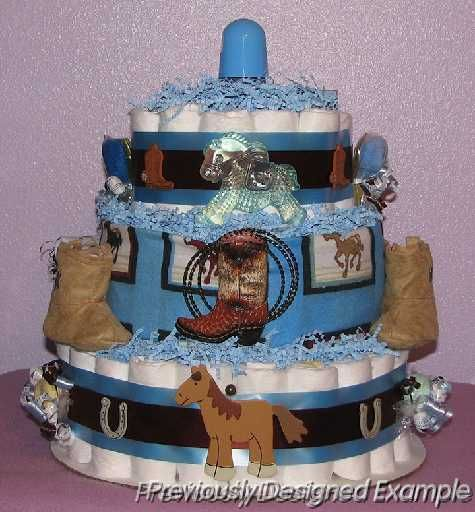 Cowgirl Baby Shower Cakes: For A Little Cowboy Or Cowgirl If It's Pink!
