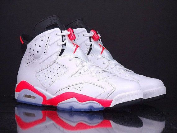 pretty nice 4ce9d 92130 air jordan 6 white infrared release reminder 01 570x427 Air Jordan 6  White Infrared Release Reminder