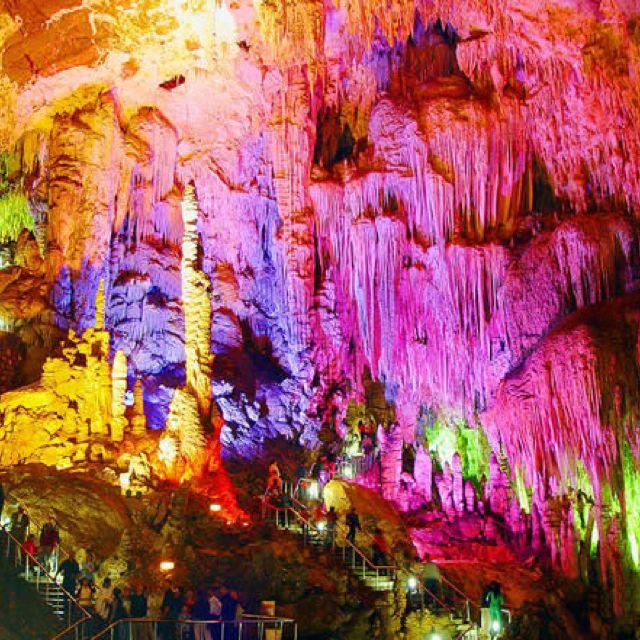 Huanglong cave, china
