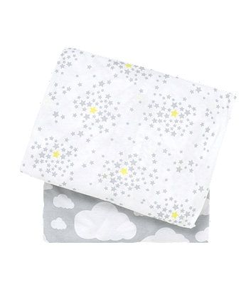 Beau Baby K Jersey Cot Bed Sheets   2 Pack