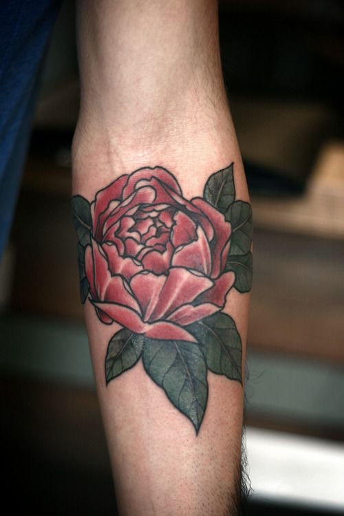 Alice Carrier Rose Tattoo