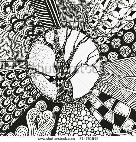 zentangle boom - Google zoeken