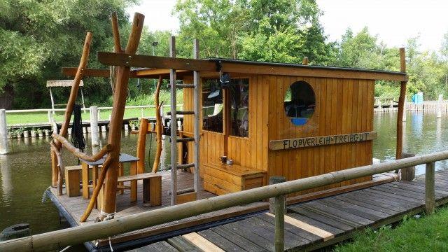 Flosstour an der Mecklenburgischen Seenplatte Unser