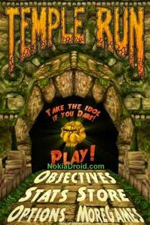 Temple Run games Apk download for Nokia X X+ XL Android phones