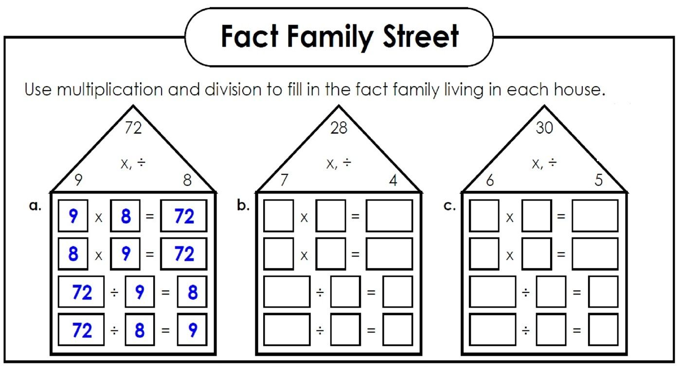 Printables Of Worksheet Fun Division