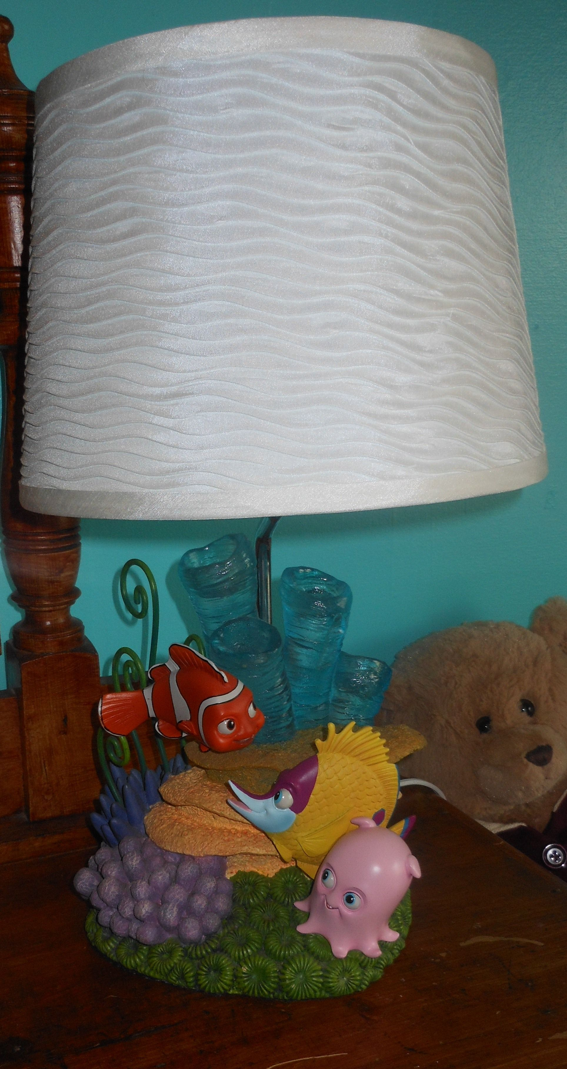 I found this lamp on ebay for the Finding Nemo Nursery! The lamp ... for lamp fish nemo  lp5fsj