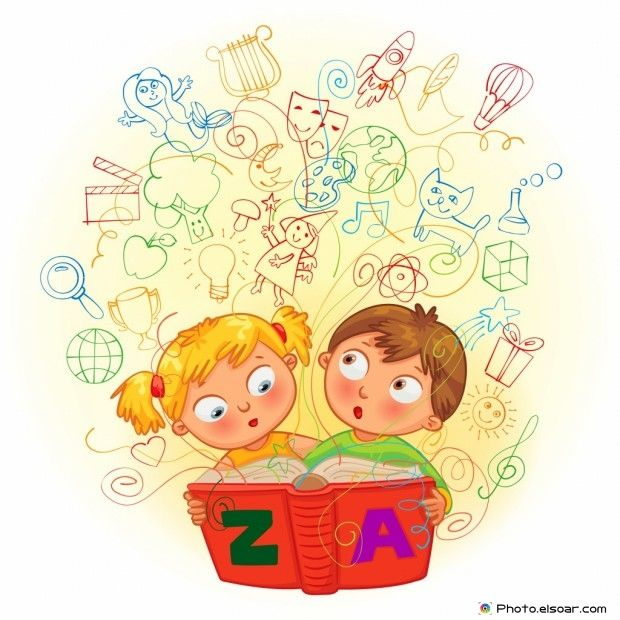 Students Come Back To School Cartoon Images Animacion A La